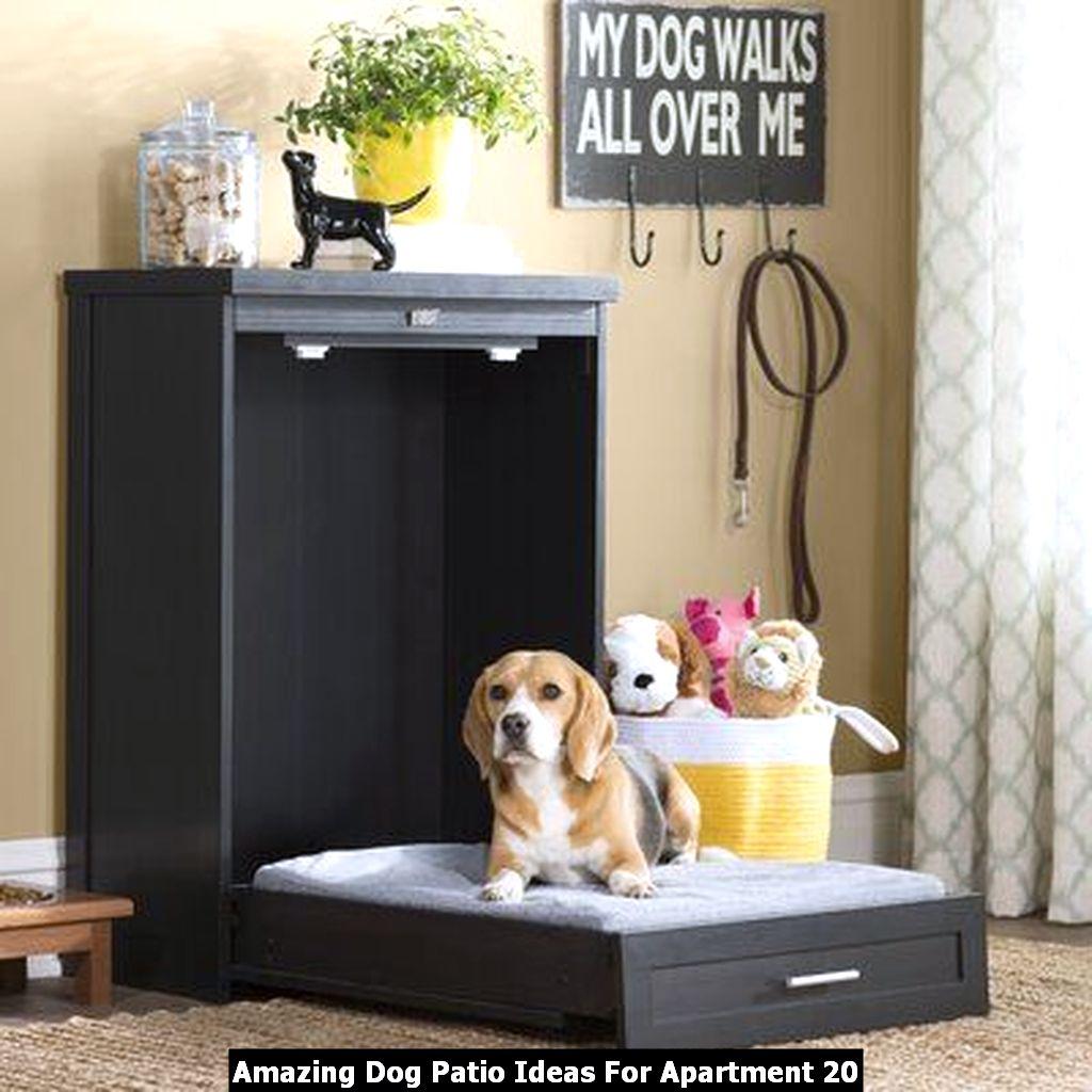 Amazing Dog Patio Ideas For Apartment 20