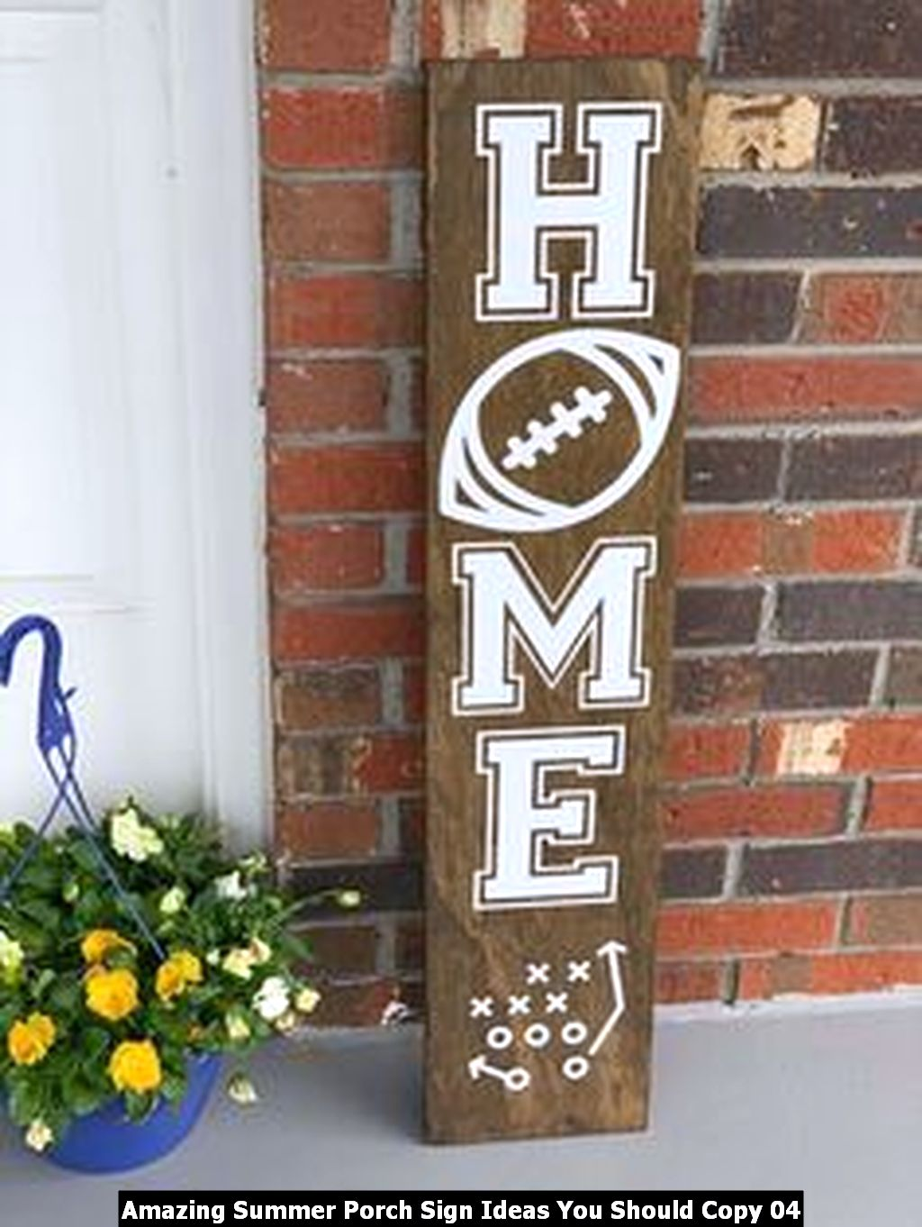 Amazing Summer Porch Sign Ideas You Should Copy 04