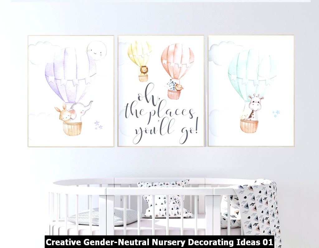 Creative Gender Neutral Nursery Decorating Ideas 01