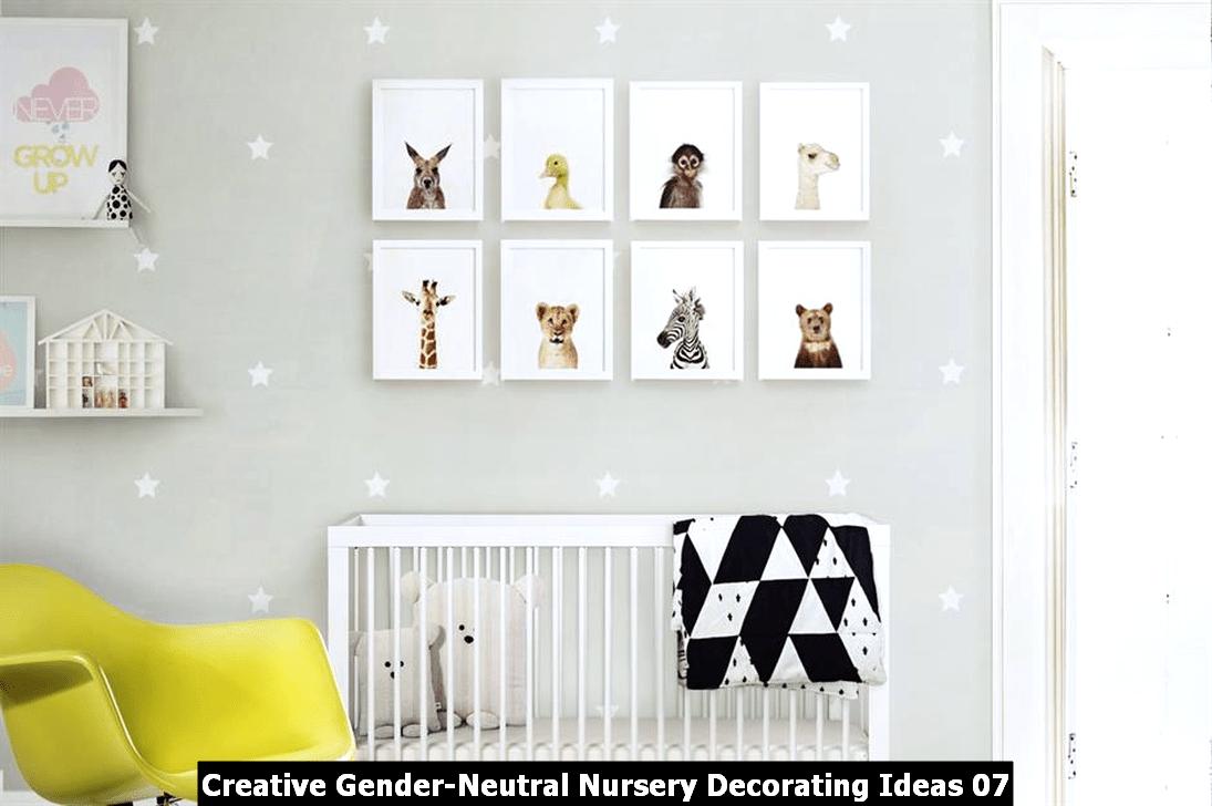 Creative Gender Neutral Nursery Decorating Ideas 07