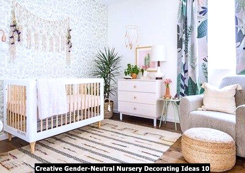 Creative Gender Neutral Nursery Decorating Ideas 10