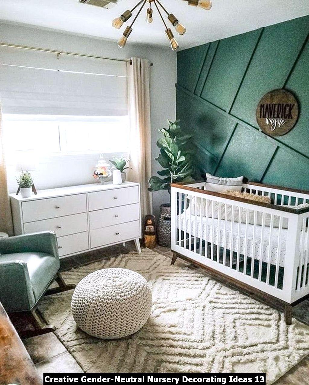 Creative Gender Neutral Nursery Decorating Ideas 13