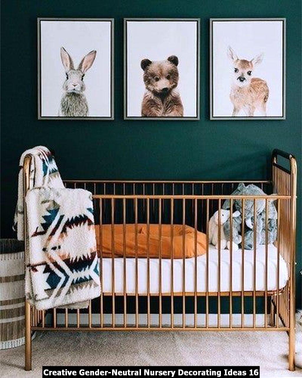 Creative Gender Neutral Nursery Decorating Ideas 16