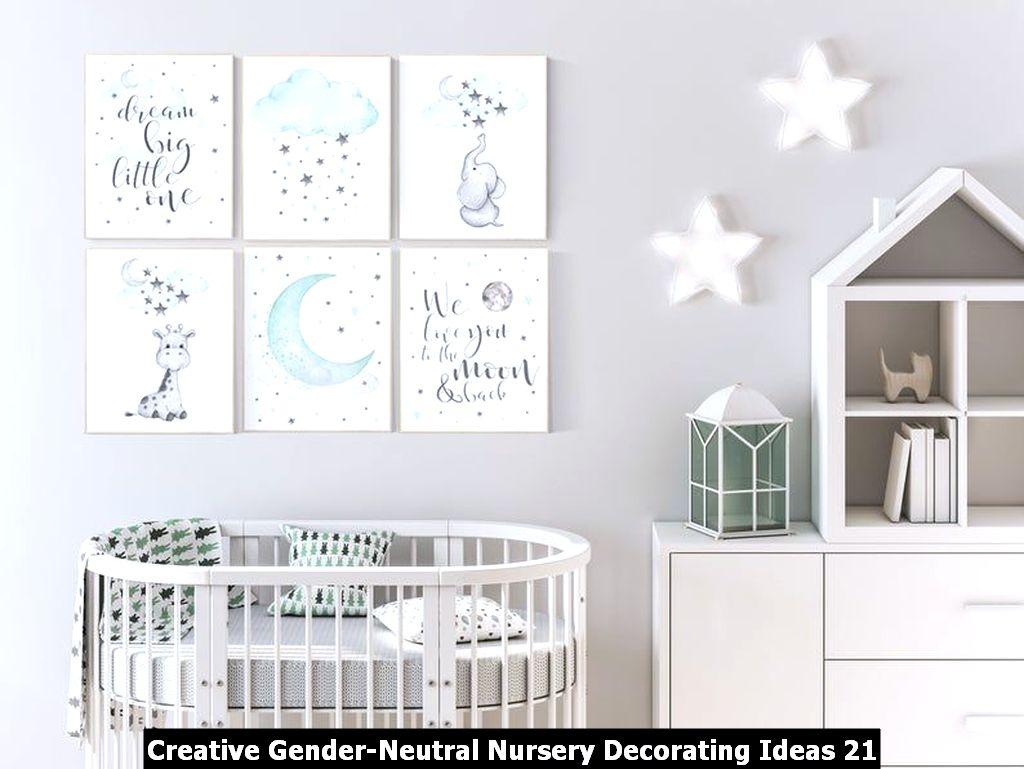 Creative Gender Neutral Nursery Decorating Ideas 21