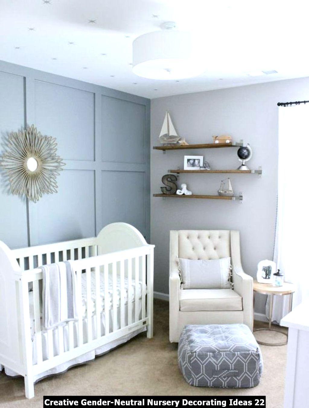 Creative Gender Neutral Nursery Decorating Ideas 22