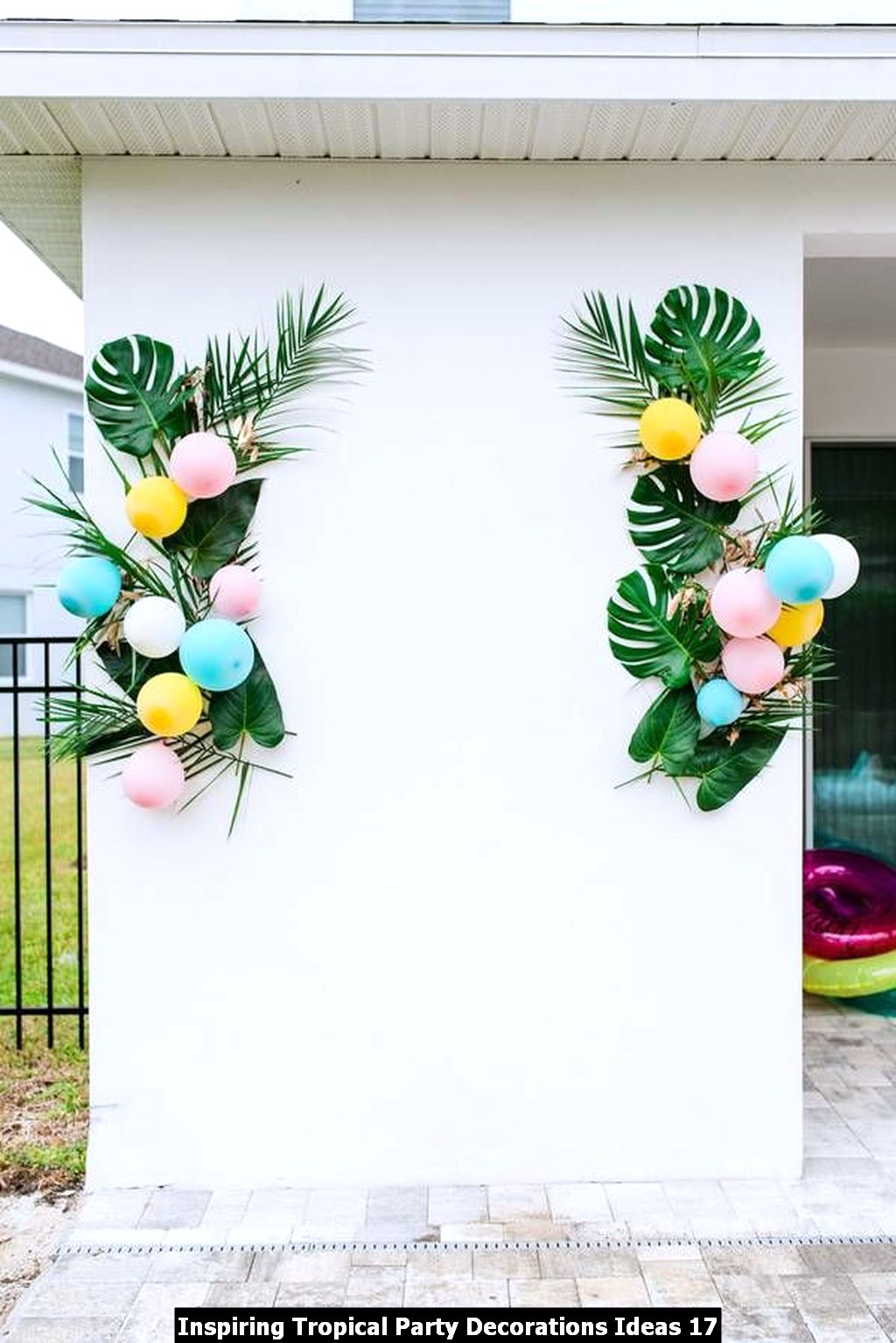 Inspiring Tropical Party Decorations Ideas 17