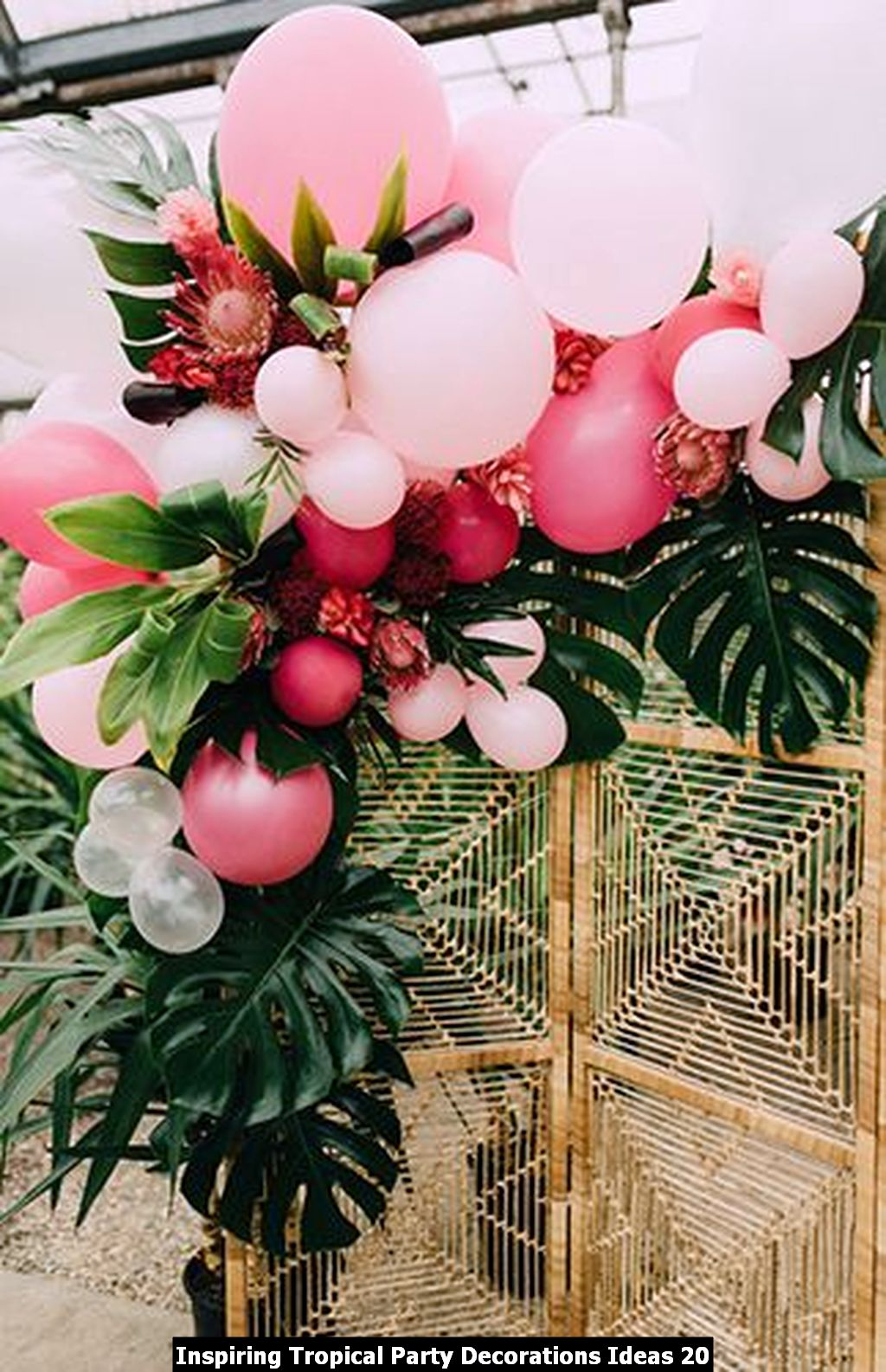 Inspiring Tropical Party Decorations Ideas 20