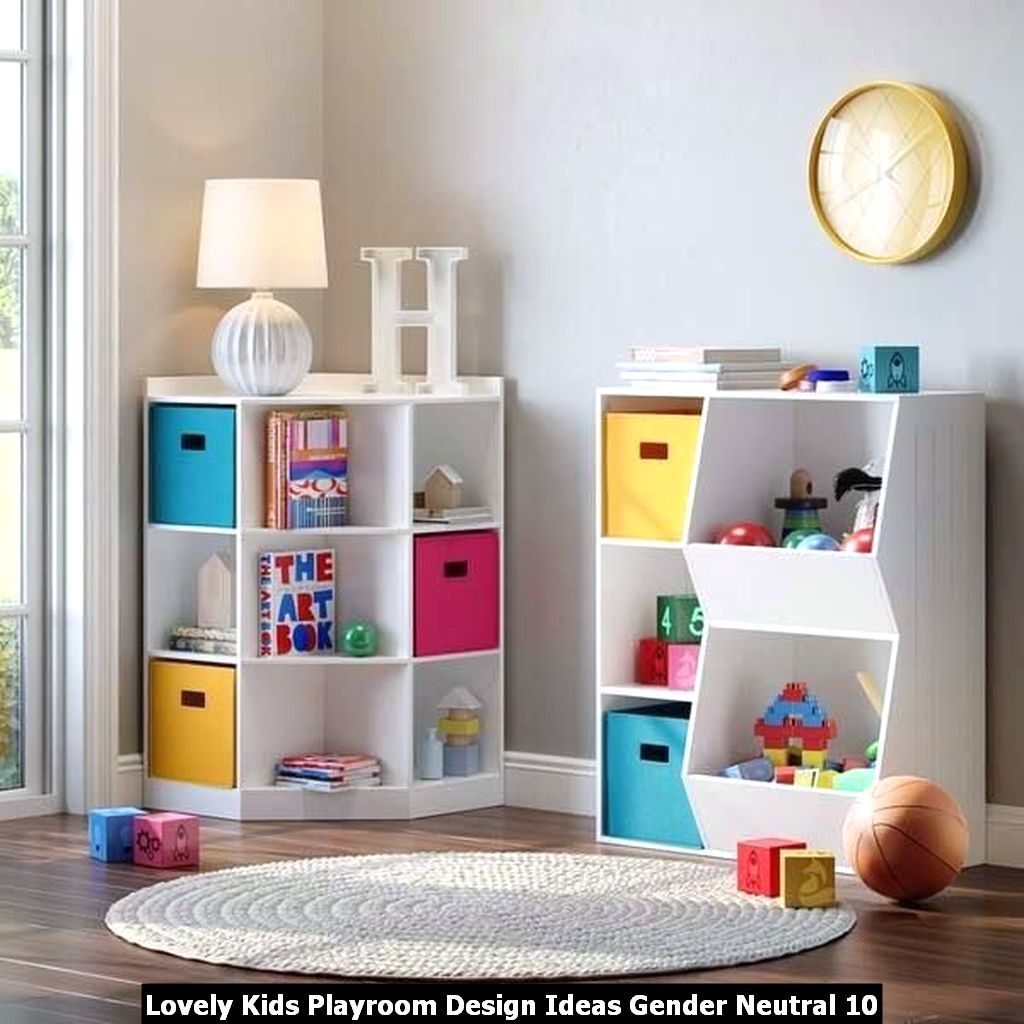 Lovely Kids Playroom Design Ideas Gender Neutral 10