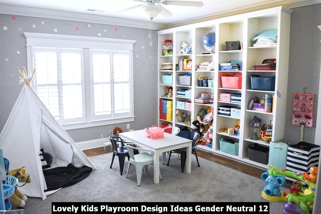 Lovely Kids Playroom Design Ideas Gender Neutral 12