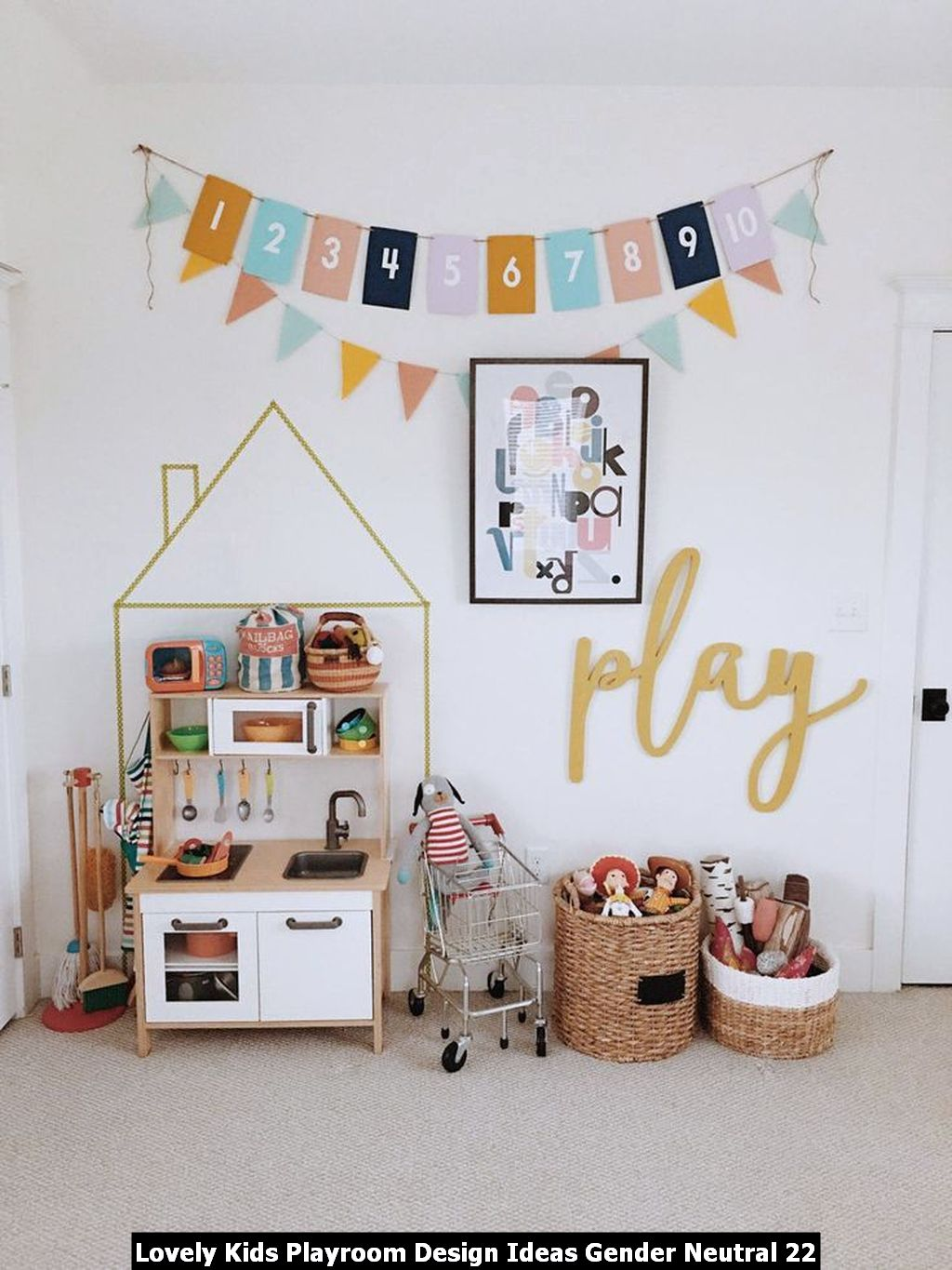 Lovely Kids Playroom Design Ideas Gender Neutral 22
