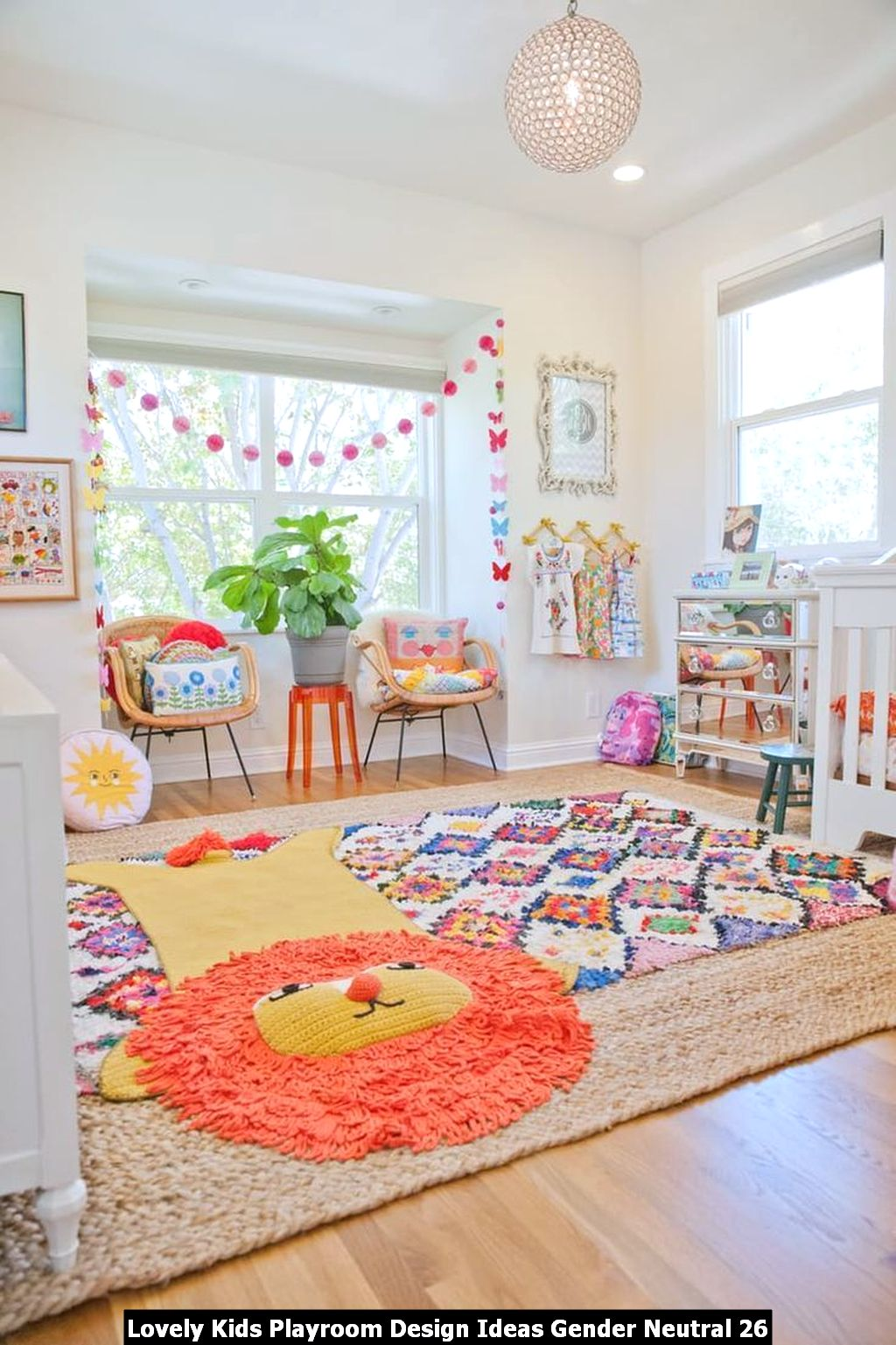 Lovely Kids Playroom Design Ideas Gender Neutral 26