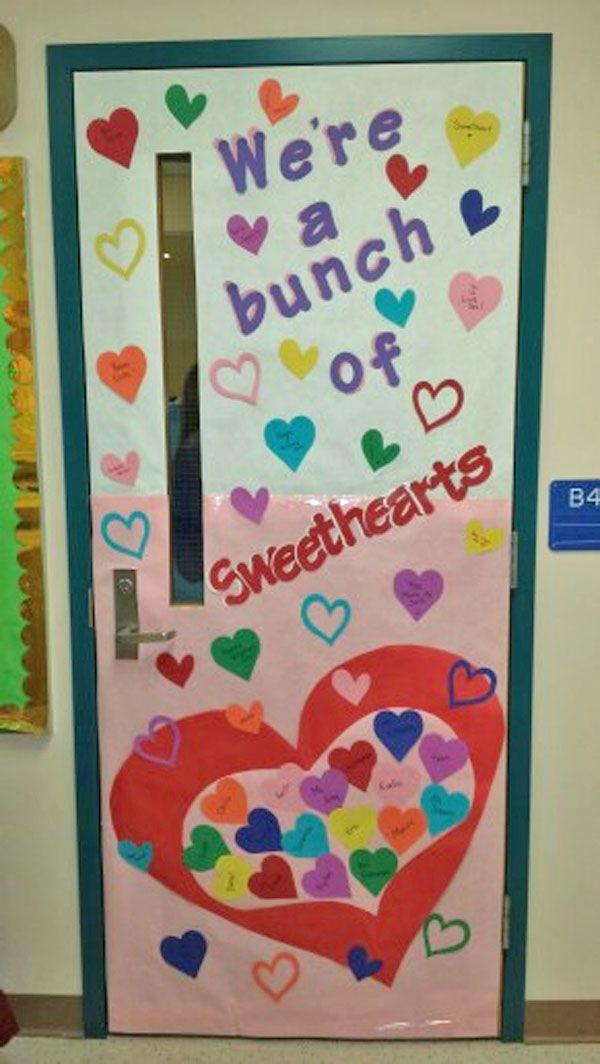 Valentines Day Door Decor