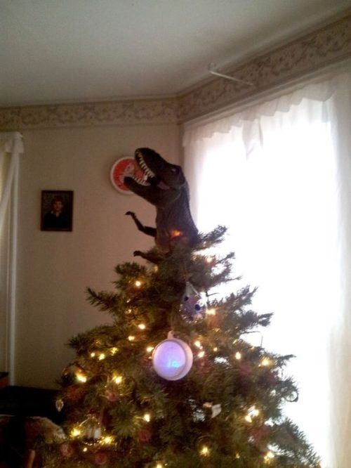 T Rex Christmas Tree