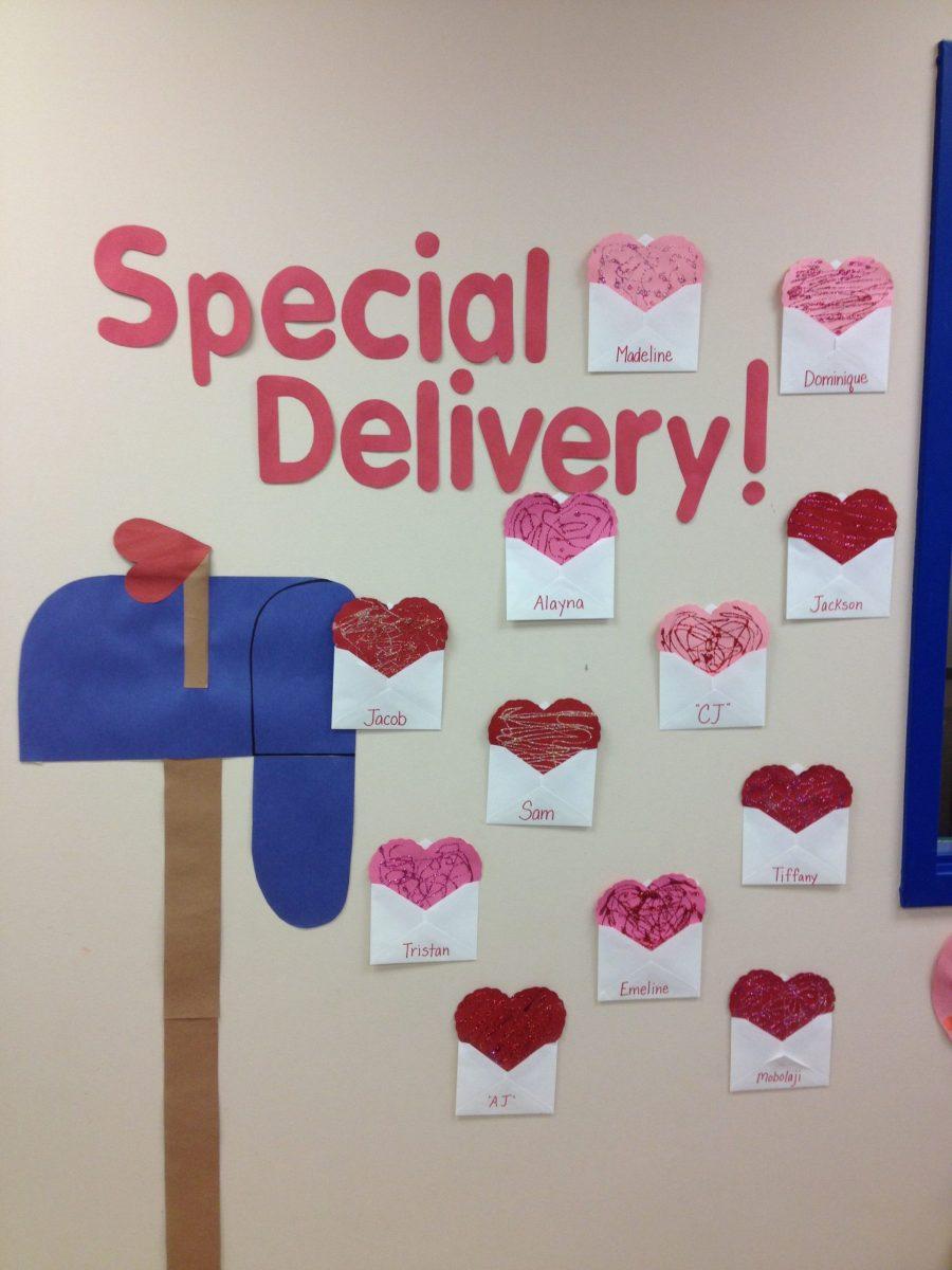Valentine's Day Classroom Decorations