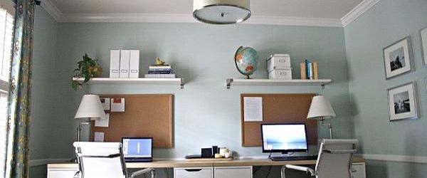 Dual Workstation Home Office