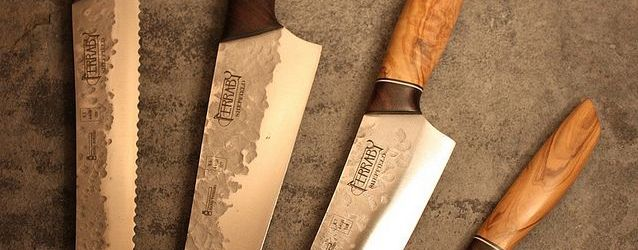 Hand Forged Kitchen Knives