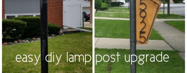 Front Yard Light Post