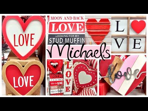 Michaels Valentines Day Decor