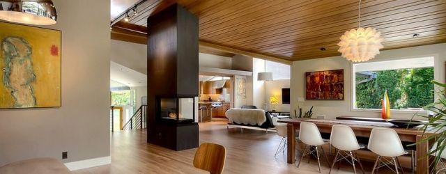 Mid Century Modern House Interior