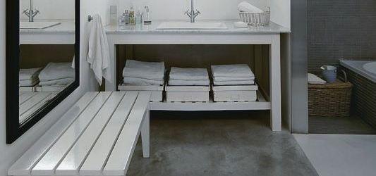 Concrete Bathroom Floor