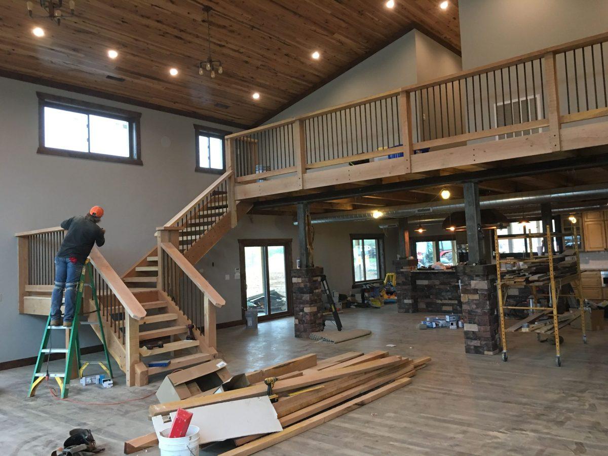 Cheap Pole Barn House Interior