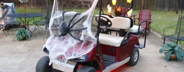 Golf Cart Halloween Decorations