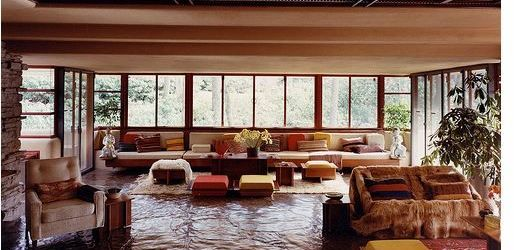 Falling Water House Interior