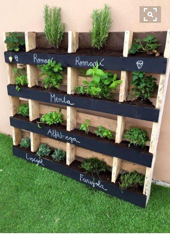 DIY Pallet Garden Ideas