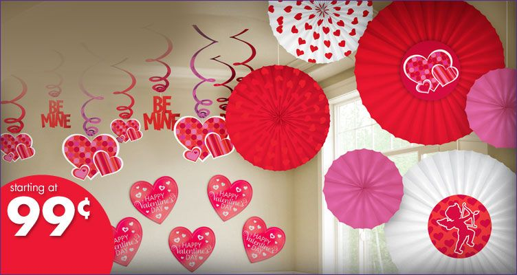 Party City Valentines Day Decorations
