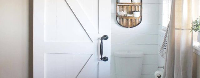 Sliding Barn Door For Bathroom