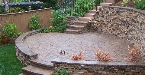 Retaining Wall Ideas For Sloped Front Yard