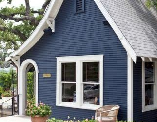 Blue Exterior Paint Colors