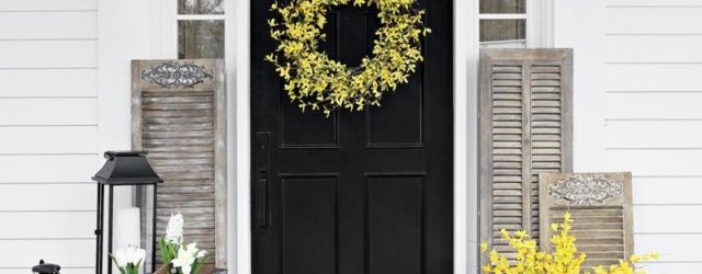 Summer Front Door Decor Ideas