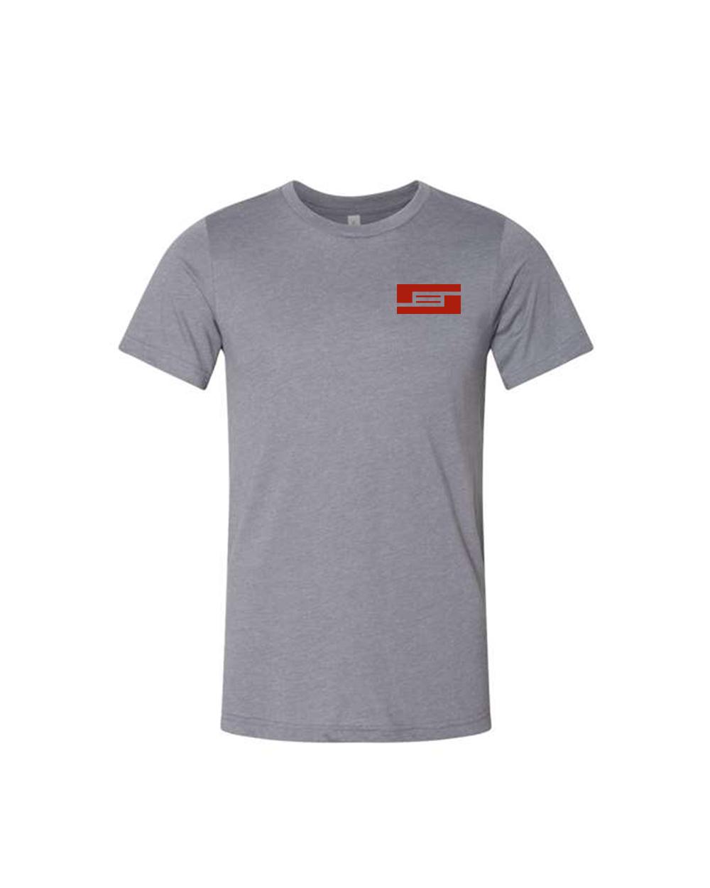 BYRD Pocket Logo Gray Shirt