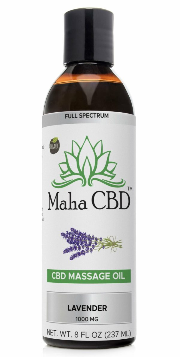 CBD Massage Oil - MahaCbd