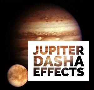 Jupiter Mahadasha