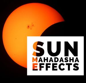 Sun Mahadasha Effects