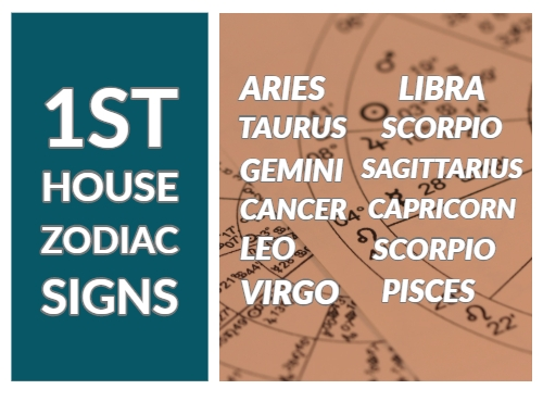 1st house in zodiac signs