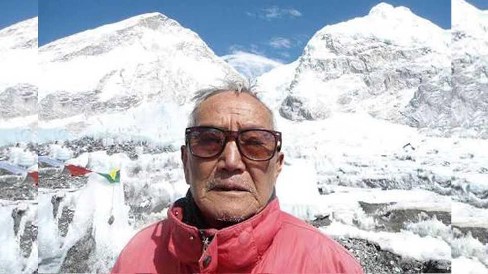 85 व्या वर्षी एव्हरेस्ट चढताना शेरचान यांचा मृत्यू