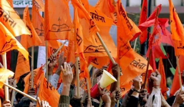 शिवसेनेचे दानवेंविरोधात आंदोलन, शेतकरी विरोधी वक्त्यव्याचा निषेध