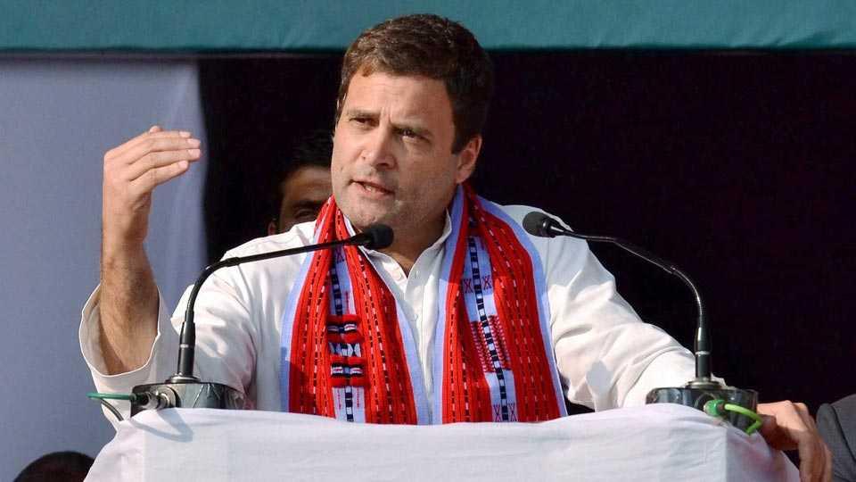 आम्ही आश्वासने पूर्ण केली; भाजपच्या आश्वासनांचं काय? : राहुल गांधी