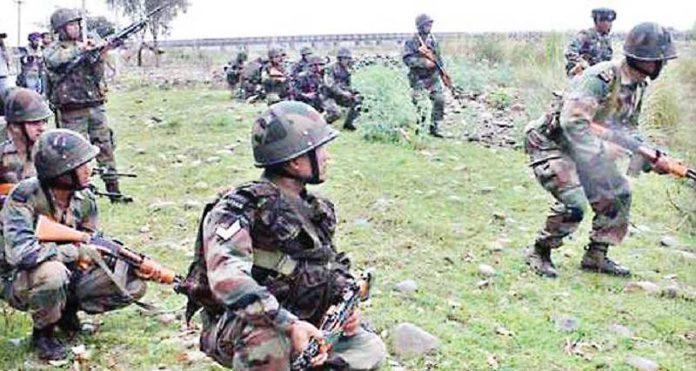 जम्मू- काश्मीरमध्ये घुसखोरीचा डाव उधळला; ५ दहशतवाद्यांना कंठस्नान