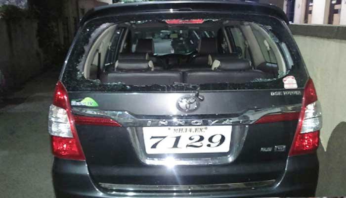 थेरगावात सात महागड्या वाहनांची तोडफोड, नागरिकांचे आर्थिक नुकसान