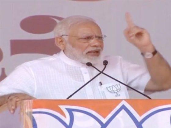 स्वत:ची पंतप्रधानपदाची उमेदवारी जाहीर करणं हा अहंकार- पंतप्रधान नरेंद्र मोदी