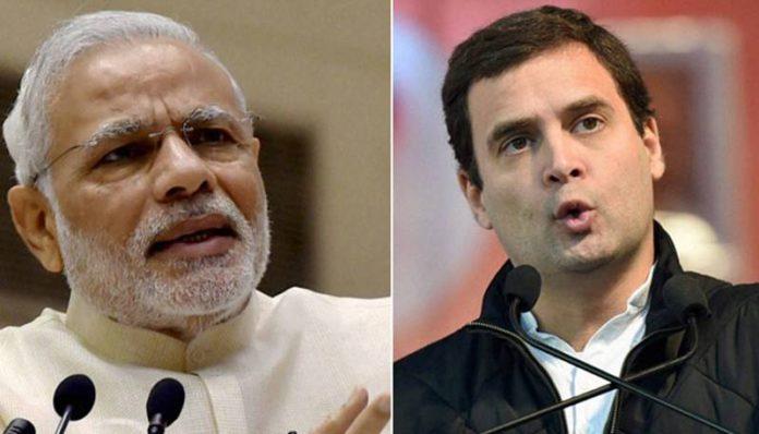 पाच मिनिटे बोलून दाखवा; राहुल गांधींचं मोदींना आव्हान