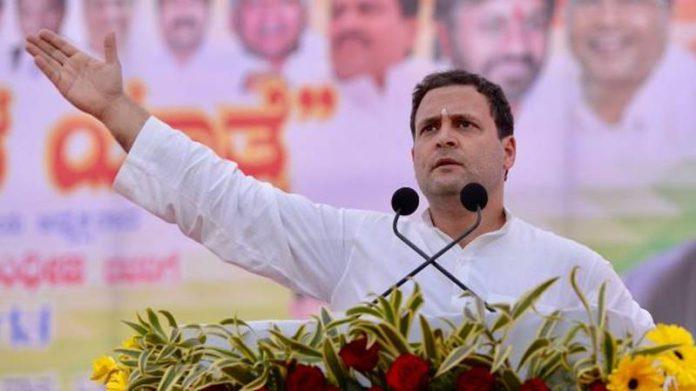 'आमच्या हातात सत्ता द्या, दहा दिवसांत शेतकऱ्यांचे कर्जमाफ करू' – राहुल गांधी