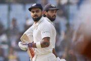 कोहली-विजयच्या भागीदारीने भारताची कडवी झुंज