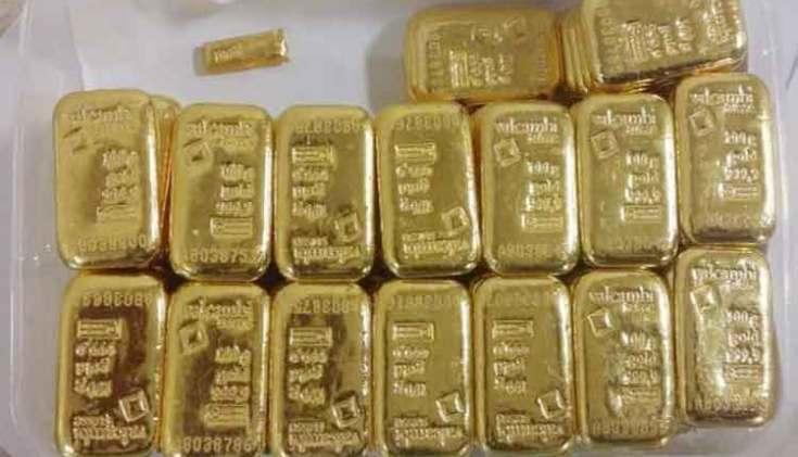 चेन्नई विमानतळावर 87 लाखांचे सोने व दहा लाखांचे 4 किलो केसर जप्त