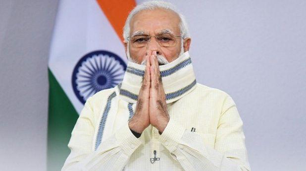 पंतप्रधान मोदींनी आज दिल्लीत रकाब गंज साहिब गुरूद्वाराला भेट देत गुरु तेज बहादुरांना वाहिली आदरांजली