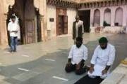 मथुरेत मंदिर परिसरात नमाज पठण चार जणांविरोधात गुन्हा दाखल